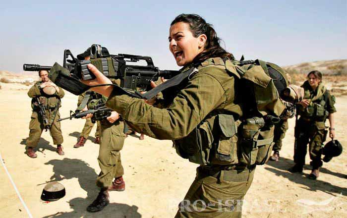 33-й женский батальон Израиля «Каракаль»