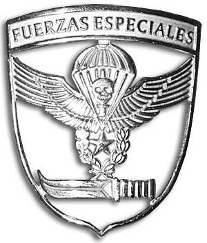 Чилийские силы специального назначения - значок на берет